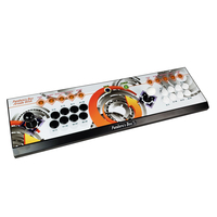 8 Button Pandora box 6 1300 in 1 wireless iron console set 2 Players arcade controller support PS3 can add 3000 game