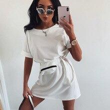 2020 summer new women's round neck short sleeve casual fashion lace dress women