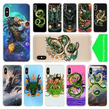 Chinese Dragon Baseus Clear Case For Xiaomi Redmi 8A 7A 4X 4a 5 Plus 7a 5a S2 6a 6 Note 8 7 5 K20 Pro Fundas Soft TPU(China)