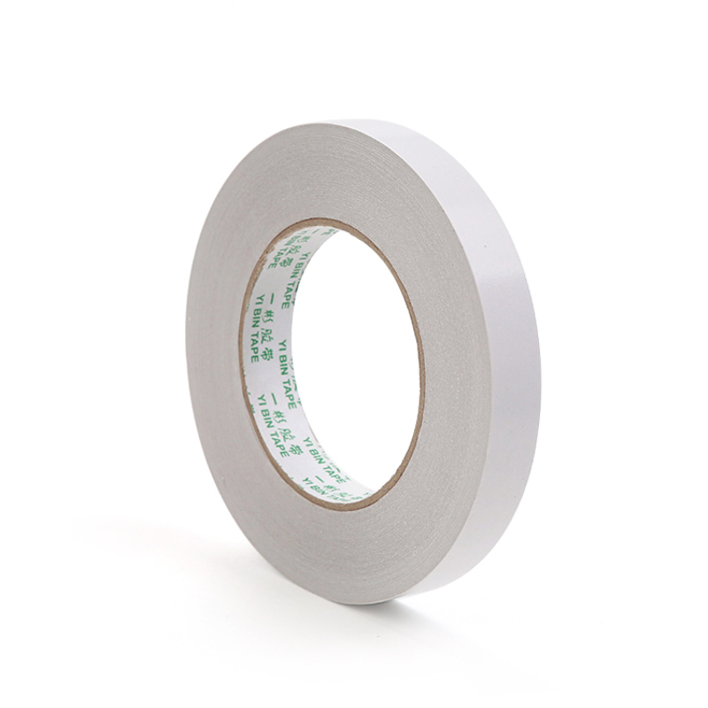 8m White Super Strong Double Sided Adhesive Tape Paper Strong Ultra-thin High-adhesive Cotton Double-sided Tape Dropshipping