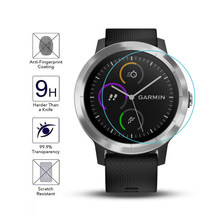 Untuk Garmin Vivoactive 3 Tonton Tempered Kaca Film HD Anti Gores Tempered Glass 9H 2.5D Premium Pelindung Layar film(China)