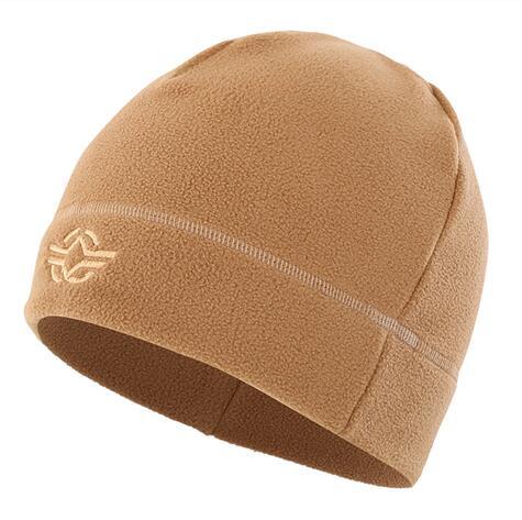 56-60 см уличная тренировочная камуфляжная Тепловая ветрозащитная флисовая шапка мужская зимняя велосипедная походная охотничья Толстая теплая армейская тактическая шапка - Цвет: Хаки