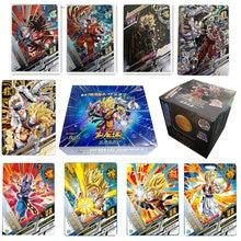 Cartões de jogo de coleção de dragonballs originais quentes flash 3d brilhando super z jogos de tabuleiro de batalha coleções