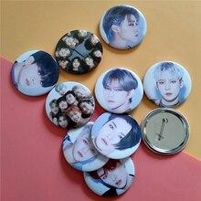 Brooch Badge ATEEZ K-Pop Decoration Member HO for 1PCS JONG HWA SEONG