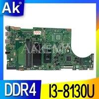 SAMXINNO Asus X510U X510UA X510UN X510UR X510URR X510UQ Laotop 메인 X510UA 마더 보드 I3-8130U CPU DDR4