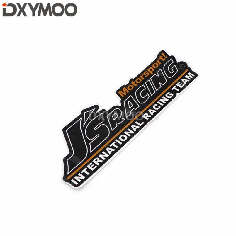 車のスタイリングデカールオートバイバイクヘルメットステッカー反射ため JS レーシング · モータースポーツ国際レーシングチーム