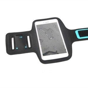 Image 5 - Mode en plein air confortable résistant à la sueur étanche Fluorescence Sport étui brassard écran tactile téléphone sac en cours dexécution Gym
