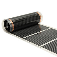 50cm*4m/50cm*6m Floor Heating Film (No accessories) Far Infrared Heating film Tool Warming Film Mat Electric Floor Heating Films