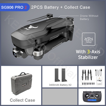ZLRC Beast SG906 Pro 2 Brushless Motor with 3-Axis Gimbal GPS 5G WIFI FPV Professional 4K Camera RC Drone Quadcopter Dron PRO2 14
