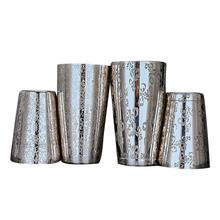 Barra De Ferramentas Creative Engraving Designs Boston Cocktail Shaker Tin Set