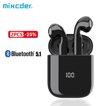 Mixcder X1 TWS Bluetooth Wireless Earphones Earbuds with Noise Cancellation MIC 24H Play Time TWS Earphone for IPhone 12