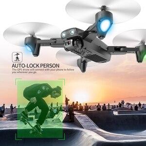 S167 GPS 4K с камерой селфи Дрон профессиональные игрушки дроны, Радиоуправляемый вертолет игрушка Квадрокоптер juguetes Квадрокоптер VS SG907