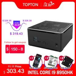 S210 Gaming Mini Computer Intel Core i9 10880H i7 9850H 2*Intel Lans 2*DDR4 2*M.2 NVME Micro PC Windows 10 Linux 4K HTPC HDMI DP