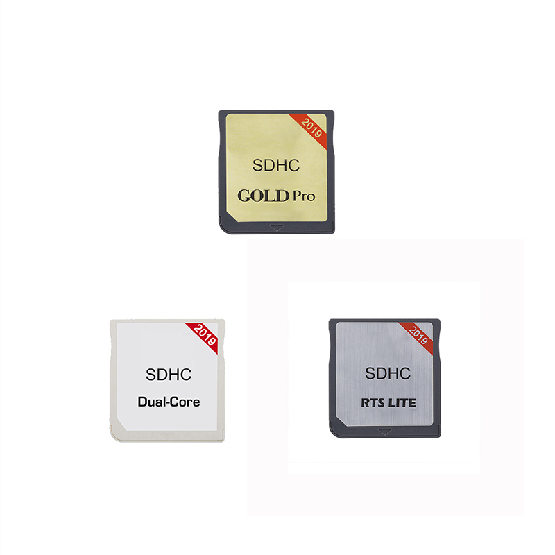New 2019 R4 SDHC Card Tool Gold Pro Dual Core RTS LTE With Card Reader