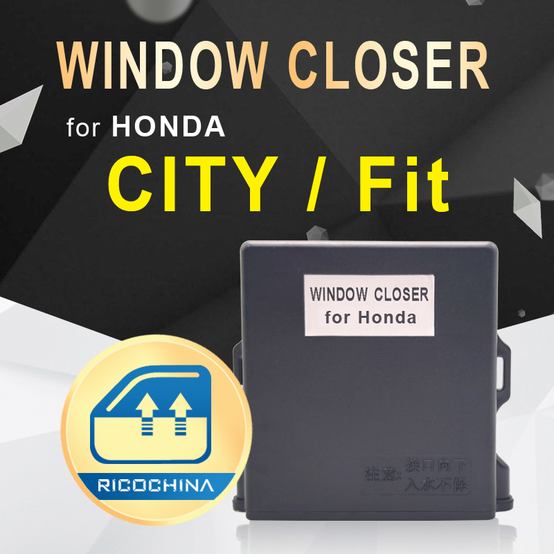 Car Auto Window Close For HONDA CITY Fit Car Power Window Roll Up Closer Car Alarm Systems