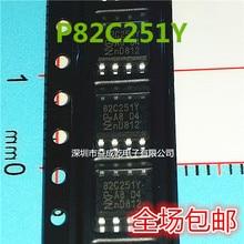 100% الأصلي جديد في المخزون PCA82C251T PCA82C251T/YM PCA82C251Y SOP8 يمكن (10 قطعة/الوحدة)