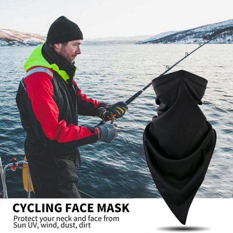 Outdoors - 2pcs Scarf Protection UV Sun Breathable Face Scarves Headwear Gaiter Tube Balaclava Headscarf