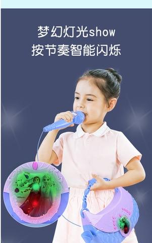 microfone karaoke brinquedos com luz led criancas