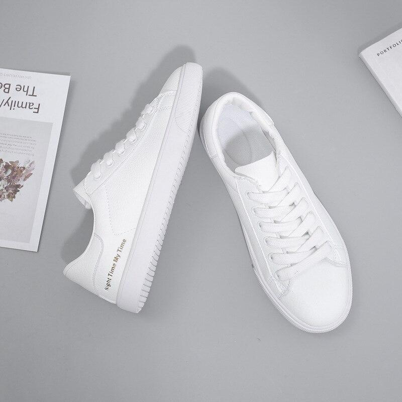 BACKCAMELSmall Weiß Schuhe Weibliche 2019 Frühling Neue Mikrofaser Leder Gürtel mit Niedrigen Gummi Boden Rutsch Tragen ResistanceSIZE37 40 - 4