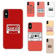 For Xiaomi Redmi Note 2 3 3S 4 4A 4X 5 5A 6 6A Pro Plus Soft Silicone TPU Transparent Phone Skin Retro Camera Cassette Tapes(China)