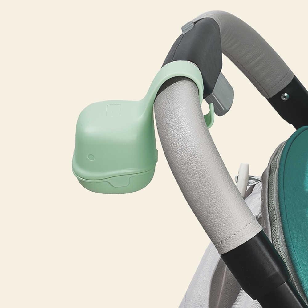 BC Babycare przenośny pojemnik na smoczek dla niemowląt pyłoszczelny śliczny smoczek w kształcie rekina przekąska pudełko podróżne bezpieczny polipropylen sutek etui na uchwyt