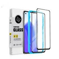 SmartDevil-protectores de pantalla para Xiaomi Mi 10T Pro Lite 9TPro, cristal templado, antihuellas dactilares, cubierta completa HD, antiluz azul