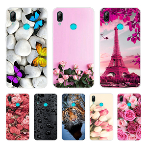 For Huawei P Smart 2019 Cases Silicone Soft TPU Back Cover For Funda Huawei P smart Case Cover POT-LX1 POT-LX3 Phone Case
