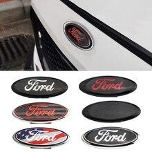 7/9 дюймовая эмблема Переднего Капота автомобиля, значок, наклейка на багажник автомобиля для Ford Logo F150 F250 Explorer Focus MK2 Fiesta MK7 Mondeo Fusion