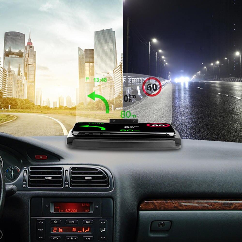 Amicable Car Hud Holder Display Projector Bracket For Gps Navigation Phone Car Hud Bracket Head Up Display Projector Bracket Relieving Rheumatism And Cold
