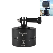 Go Pro Accessories Photography Delay Tilt Head 60 min Timer Time Lapse For pro Hero7 6 5 4 YI 4K Sj8 DJI OSMO Action H9R