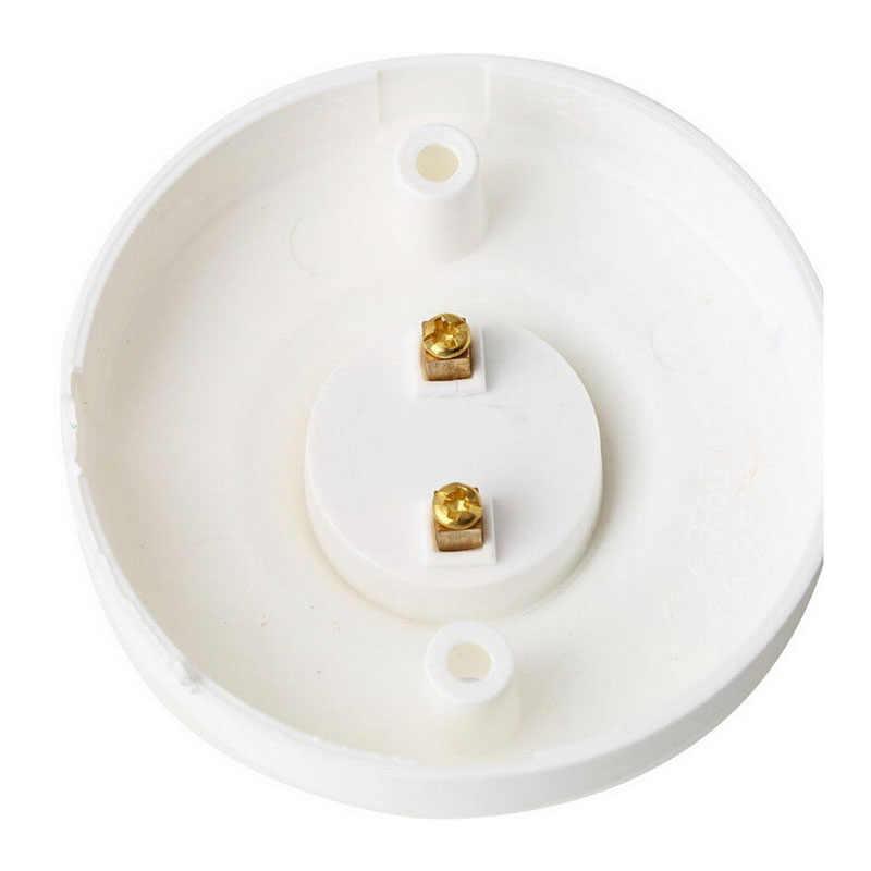 1 PC E27 Dudukan Lampu Tahan Api PBT Lampu Basis Lampu Bulat Soket Lampu Basis Putih Lampu Tinggi Kualitas