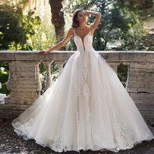 2021 бальное платье Свадебные платья sheer o образным вырезом