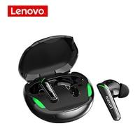 Lenovo-xt92 tws bluetooth 5.1ゲーミングヘッドセット,ゲーミングイヤホン,低遅延,ステレオ,ワイヤレス,タッチコントロール,ヘッドセット