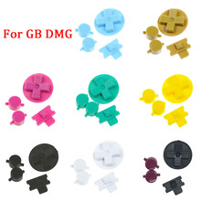 New GB DMG Buttons Replacement for Gameboy Classic GB Keypads for Gameboy A B buttons D pad with Dust Cover Button