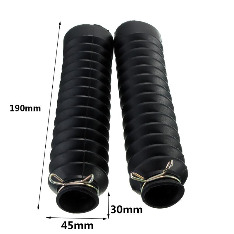 Image 5 - VODOOL 2Pcs Motorcycle Front Fork Protector Cover Gaiters Boot Shock Absorber Dust Guard For Motocross Off Road Pit Dirt Bike-in Covers & Ornamental Mouldings from Automobiles & Motorcycles