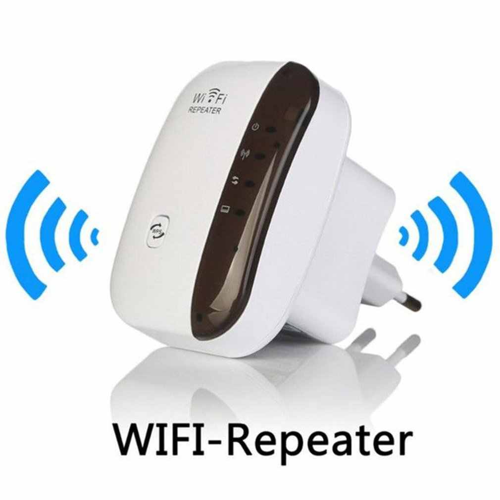Repetidor WiFi inalámbrico extensor Wifi 300Mbps amplificador Wi-Fi 802.11N/B/G amplificador Repetidor WiFi Reapeter acceso punto