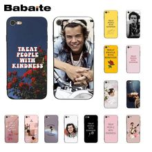 Babaite Harry Styles Treat people with kindness Phone Case for iPhone XR 11 Pro MaxXS MAX  8 7 6 6S Plus X 5 5S SE