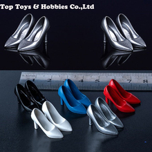 1/12 Scale Toy center CEN-S02 Female Trend high heels Shoes Model Fit 6 Figure woman Body Figures Accessories