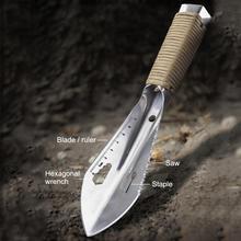 Gardening Flower Tools Portable Multifunctional Vehicular Folding Shovel Outdoor Camping Small Hand Army Shovels