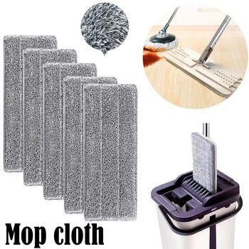 25 #1 2 5 10 sztuk środki czystości ścierka do mopa w celu uzyskania mikrofibry prać Spray Mop do kurzu gospodarstwa domowego głowica mopa podkładka do czyszczenia tanie i dobre opinie CN (pochodzenie)
