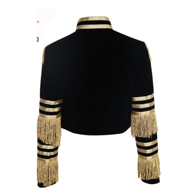 2020 Sexy Fashionable Coat with Tassel Strip  6