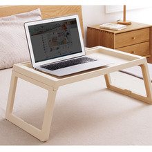 Modern Desk Foldable Table With Groove Plastic Study Adult N