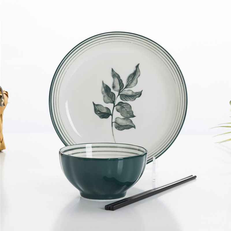 Set Di Stoviglie Di Lusso Da Cucina Nordica Set Di Piatti E Ciotole In Ceramica Con Intarsio In Oro Set Completo Di Stoviglie Giapponesi Dishes Plates Aliexpress