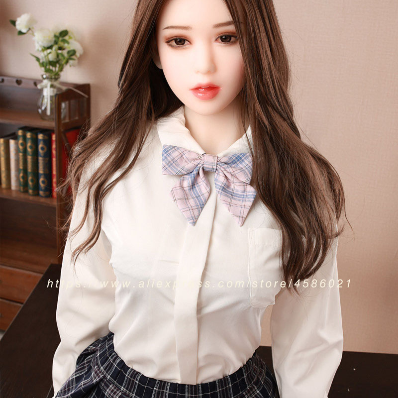Image 5 - real silicone sex doll for men 155cm top skeleton adult love doll vagina lifelike pussy Japanese realistic big breast sexy doll-in Sex Dolls from Beauty & Health