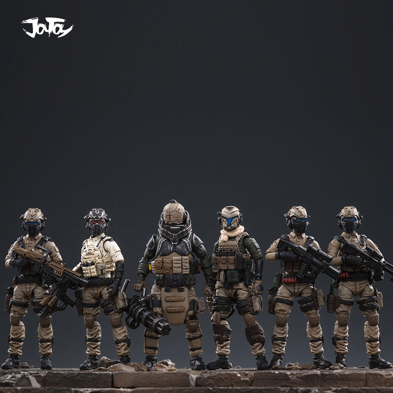1/25 JOYTOY Action Figure UNSC Land Cavalry Soldier Figures Collectible Toy Military model auction Christmas gift present