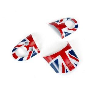 Image 3 - Dla Mini Cooper pokrywa koła kierownicy akcesoria do dekoracji wnętrz naklejki dla R55 R56 R57 R58 R59 R60 JCW Clubman Countryman