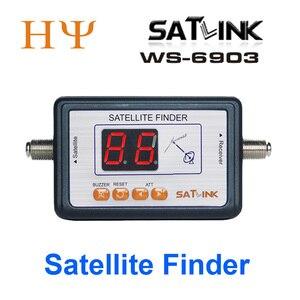 Image 1 - Satlink WS 6903 спутниковый измеритель Satlink ws 6903 Цифровой дисплей спутниковый искатель метр ws6903 WS 6906 ws 6916 6933