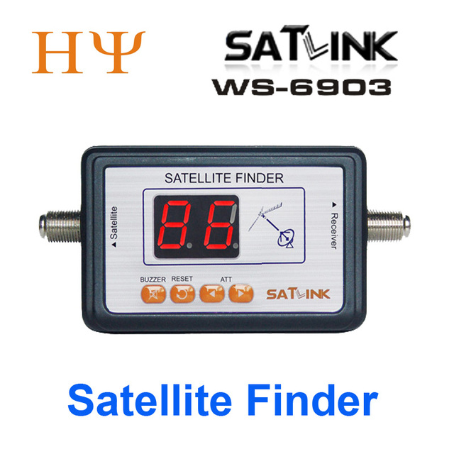 Satlink WS 6903 спутниковый измеритель Satlink ws 6903 Цифровой дисплей спутниковый искатель метр ws6903 WS 6906 ws 6916 6933