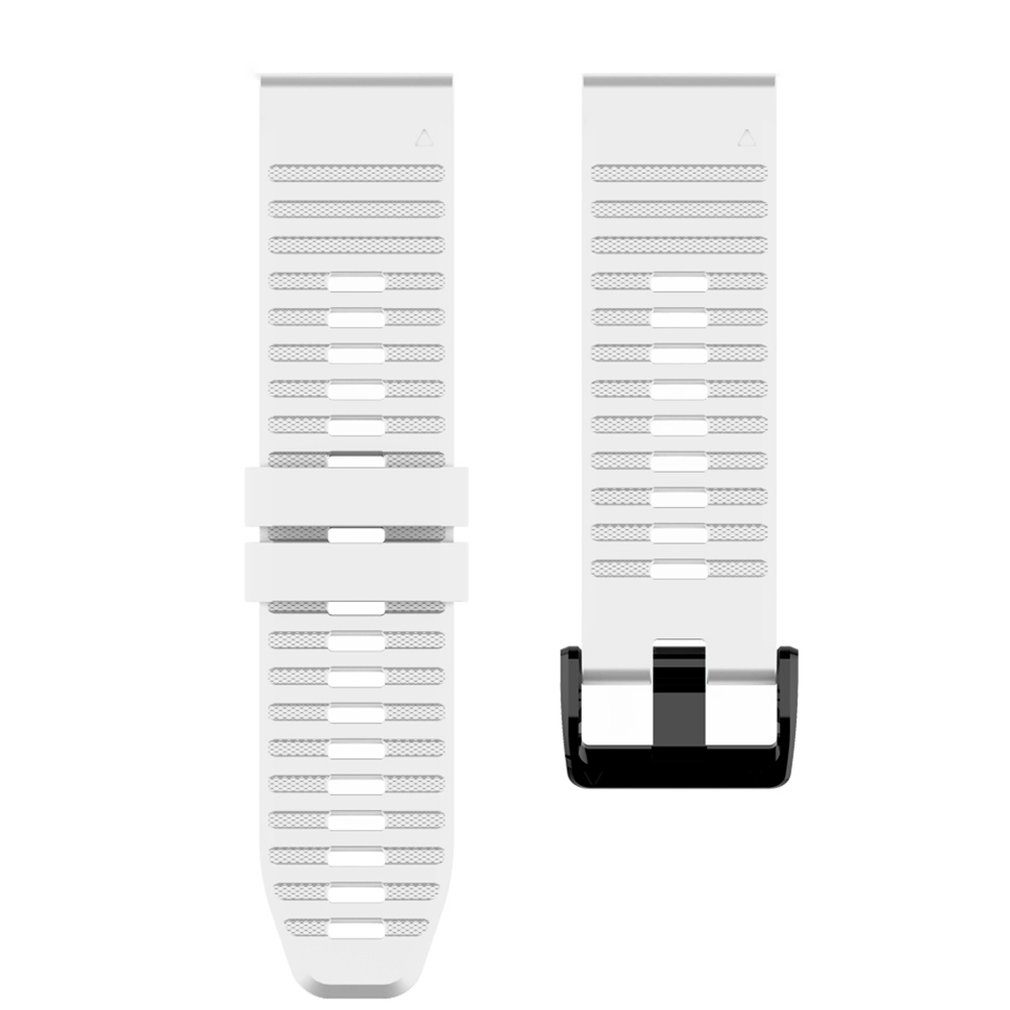 26 22MM Quick Release Watch Band Strap For Garmin Fenix 6X Quick Fit Silicone Wrist Band Strap For Garmin Fenix 5X/enix3 Hr/D2