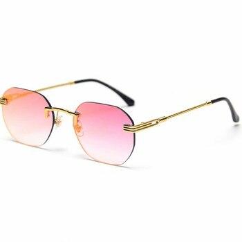 Adults Polygon Frameless Sunglasses
